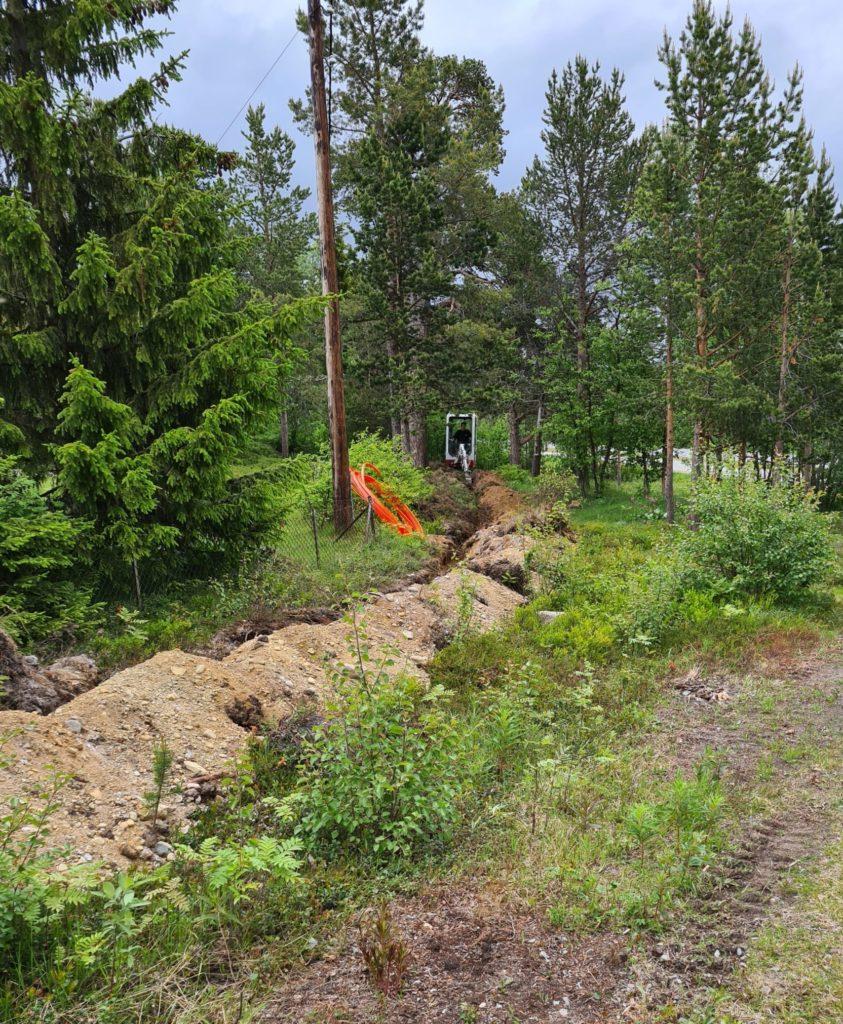 fiberutbygging i midtbakken og tollevika i Alta