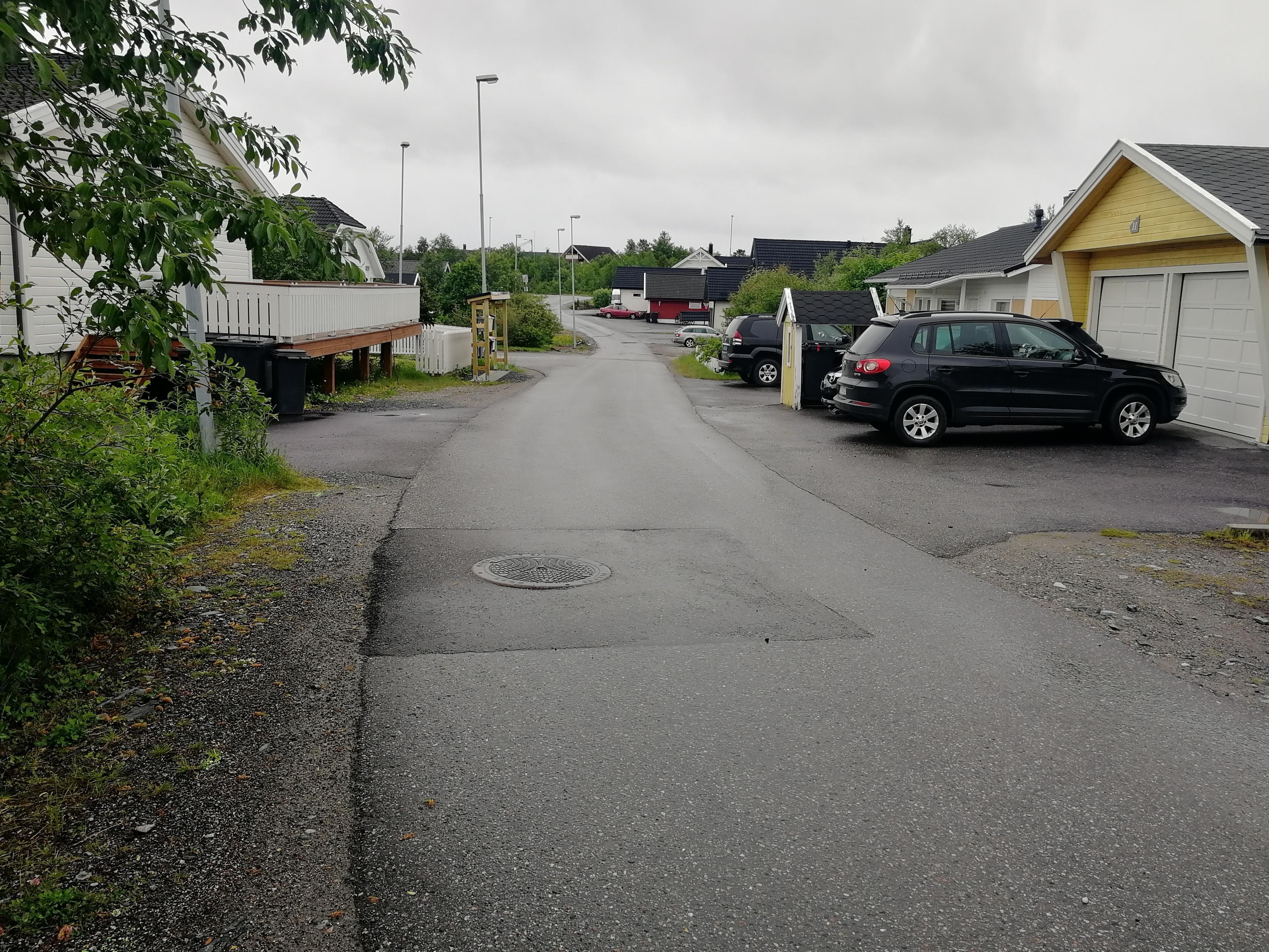 Fiberutbygging i Krøkebærveien i Hesseng