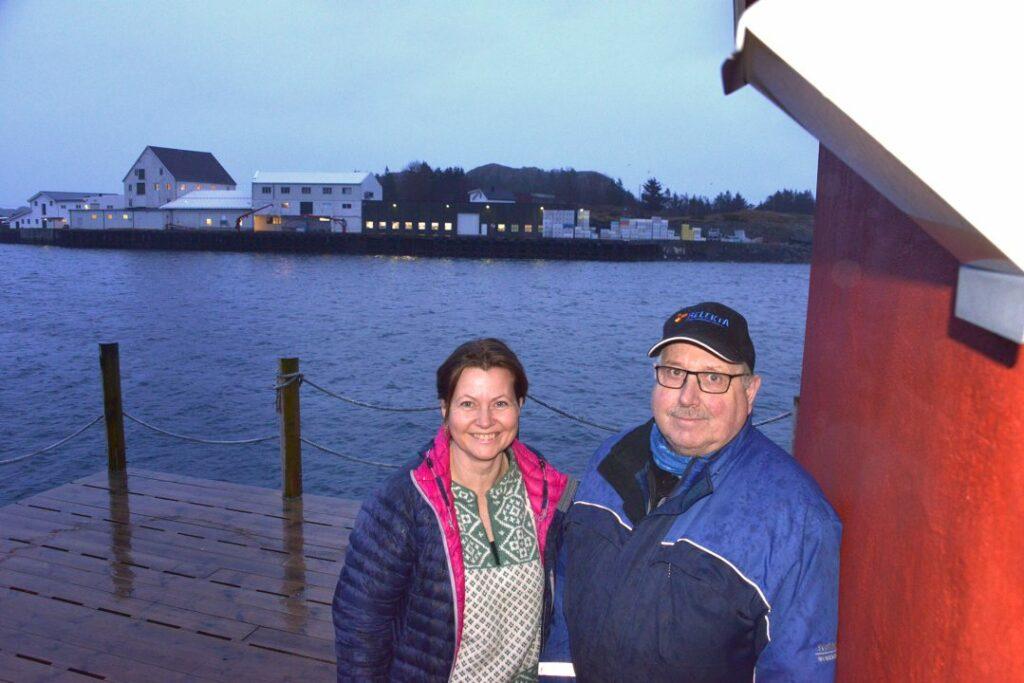 Trude Kaspersen i Riksheim Fisk i Henningsvær