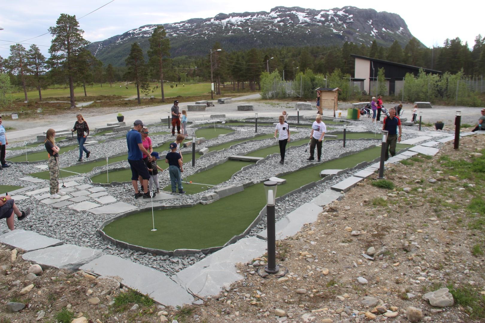 Alta Golfklubbs bane viser til stor suksess blant medlemmene