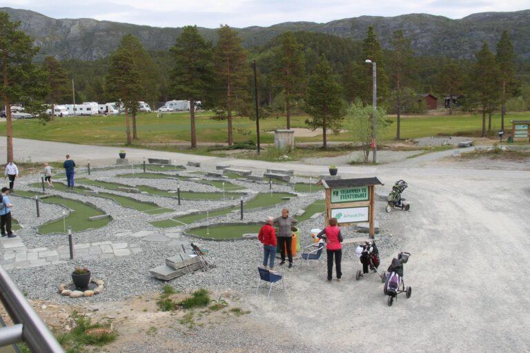 Golfbanen i Alta har hatt stor suksess siden åpning i 2010