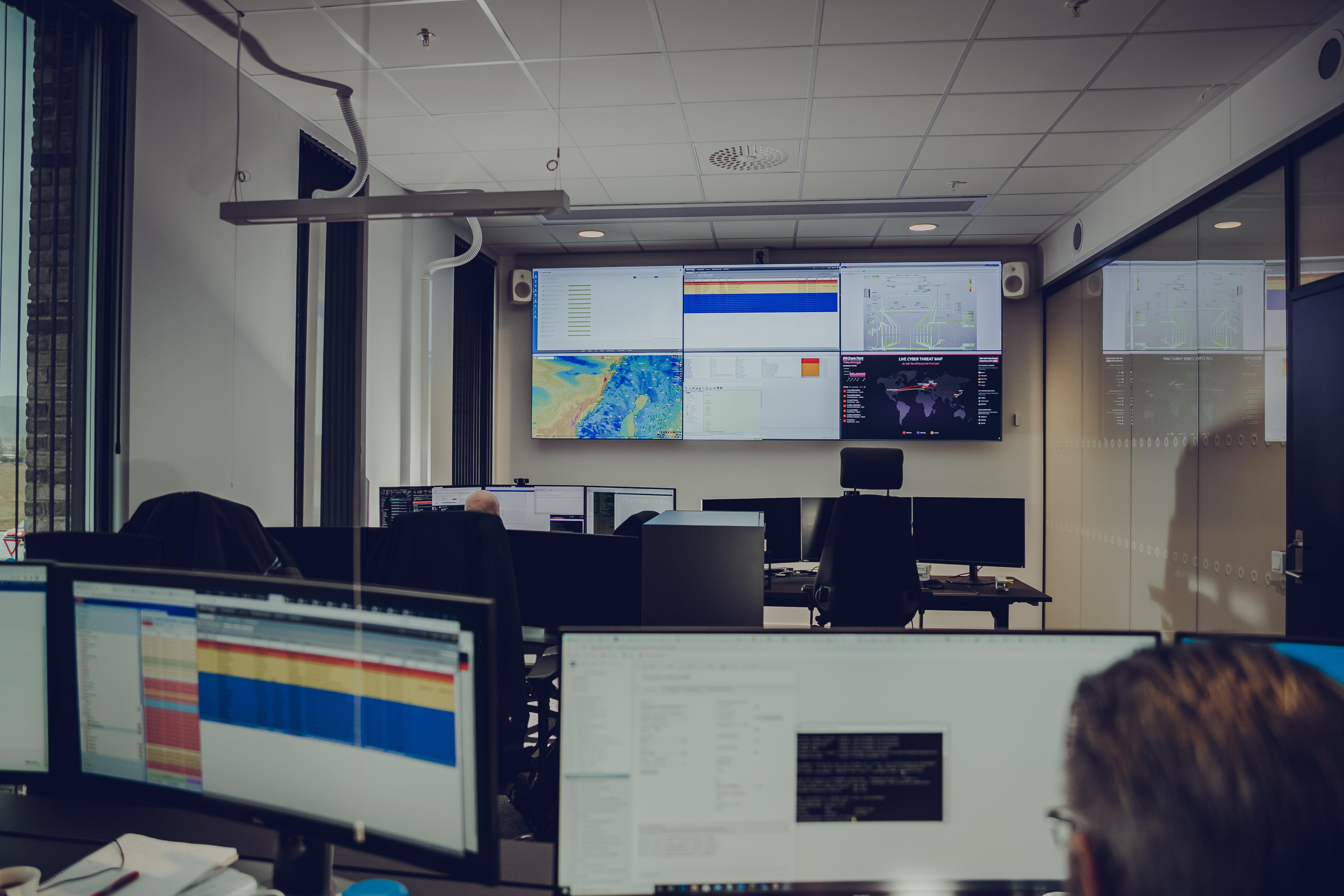 Altibox operasjonssenter i Bodø, hos Signal Bredbånd