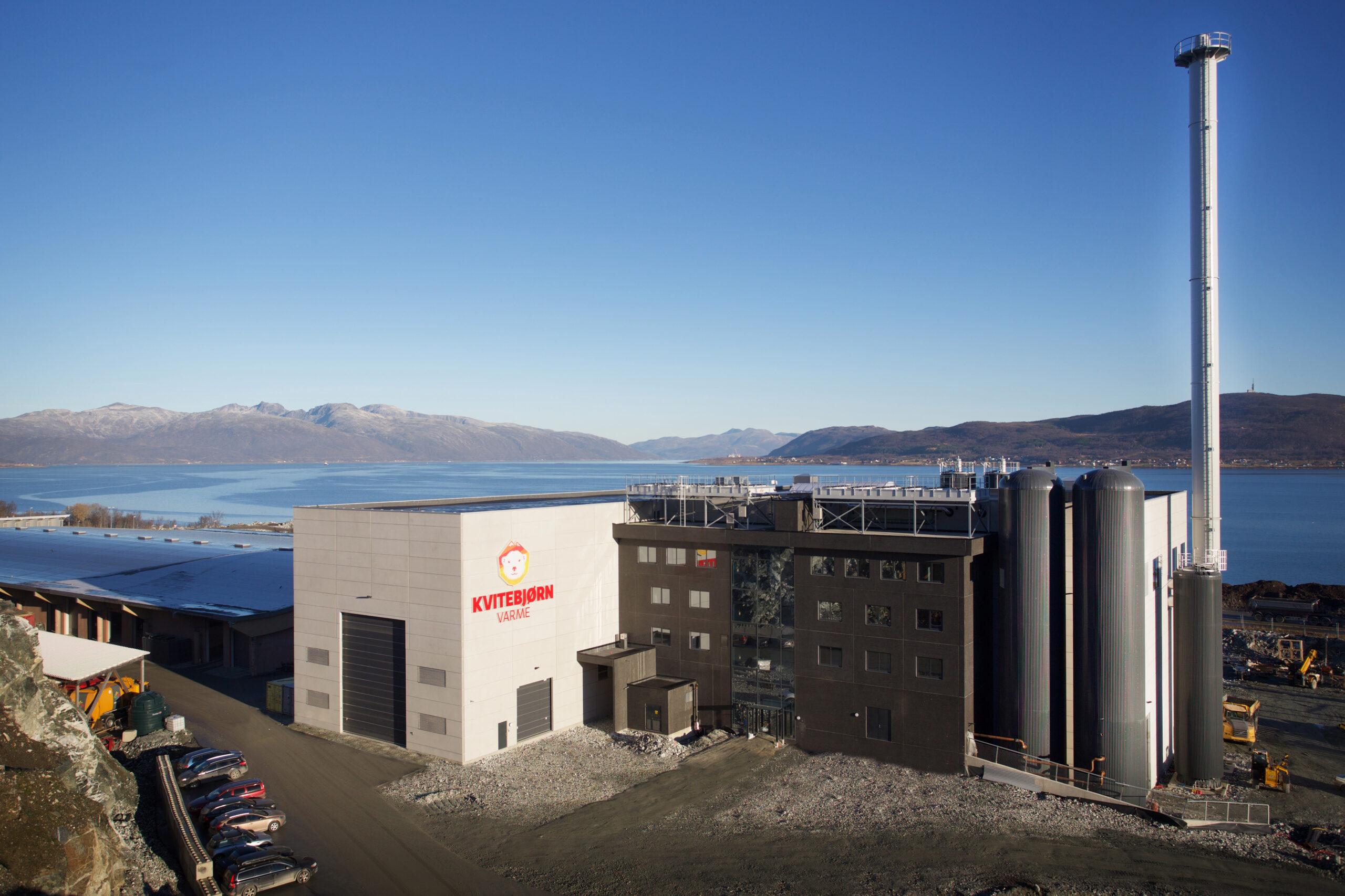 Bygget hos Kvitebjørn i Tromsø