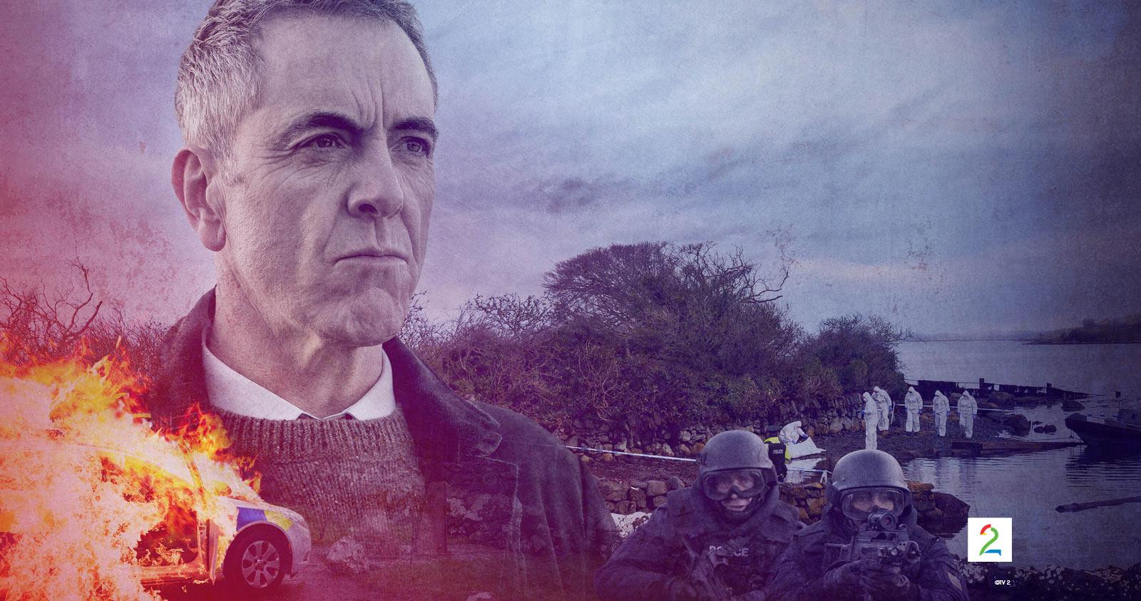 Bloodlands er en av seriene vi får se på TV i påsken