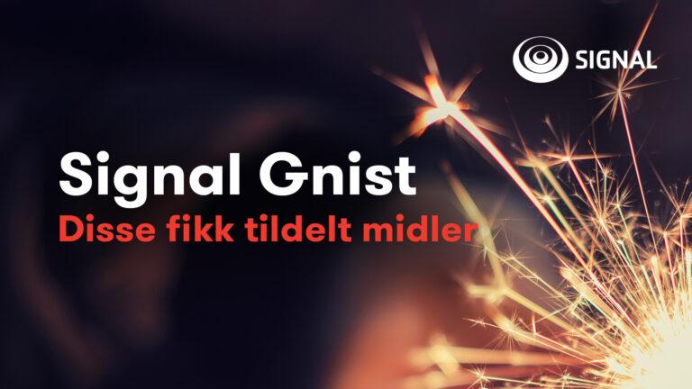 Signal Gnist bannerbilde