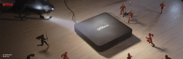 Altibox TV modell a dekoder